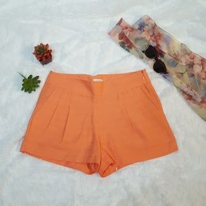 J. CREW front pleated shorts